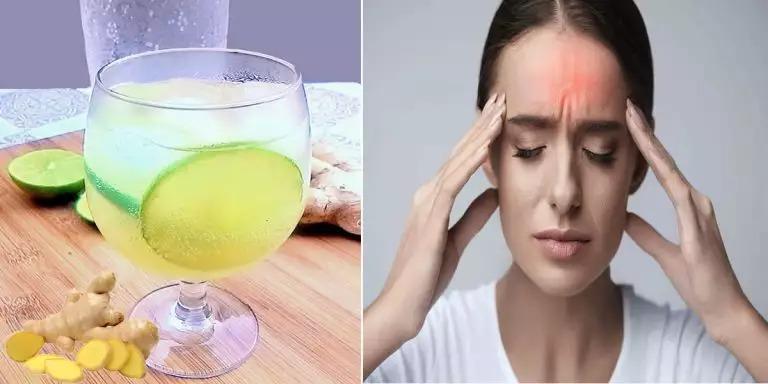 Ghimbir și apă spumantă pentru migrenă: învățați să faceți acest remediu 100% natural
