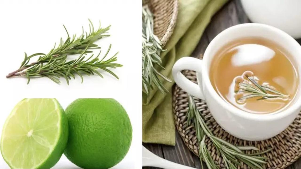 Ceai de rozmarin cu lămâie: controlează anxietatea și accelerează pierderea în greutate
