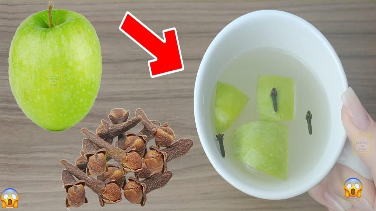 Ceaiul de mere verde cu cuișoare: detoxifică ficatul, controlează diabetul și mărește imunitatea