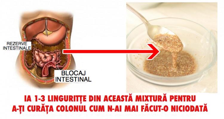2 ingrediente care curata colonul si elimina deseurile din organism