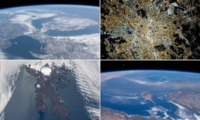 14 fotografii nemaivăzute ale planetei noastre de la NASA